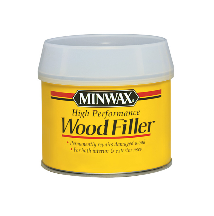 Minwax high performance wood filler wood projects are for Wood floor hole filler