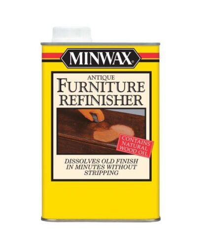 Płyn do renowacji drewna Minwax Antique Furniture Refinisher, usuwa stare lakiery, szelak, odnawianie mebli, odrestaurowanie mebli