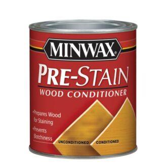 Podkład do drewna Minwax Pre-Stain Wood Conditioner podkład olejny do drewna, przygotowanie drewna przed bejcowaniem, podkład, drewno, stolarstwo, lakierowanie