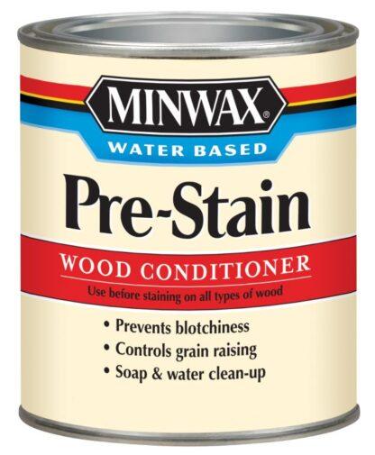 Podkład do drewna Minwax Water Based Pre-Stain Wood Conditioner, podkład wodny do drewna, przygotowanie drewna,