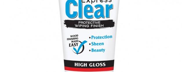 Lakier do ręcznego nakładania na drewno Minwax® Express Clear
