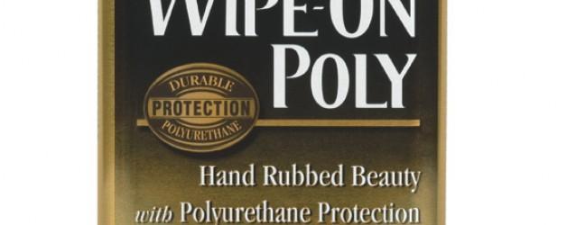 Lakier do drewna do ręcznego nakładania Minwax® Wipe-On Poly
