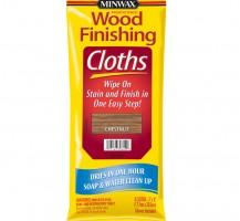 Lakierobejca do drewna w ściereczakch do ręcznego nakładania Minwax® Wood Finishing Cloths